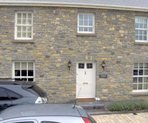 Cropped Blue Lias & Sandstone Cills
