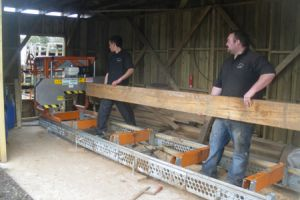 Oak Beam To Be Cut To Size