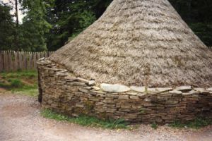 Sandstone Dry Stone Wall