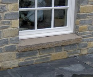Cropped Blue Lias & Sandstone Cill
