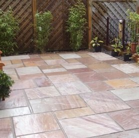 Flagstones Paving